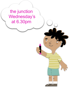 junction reminder = wed @ 6.30pm