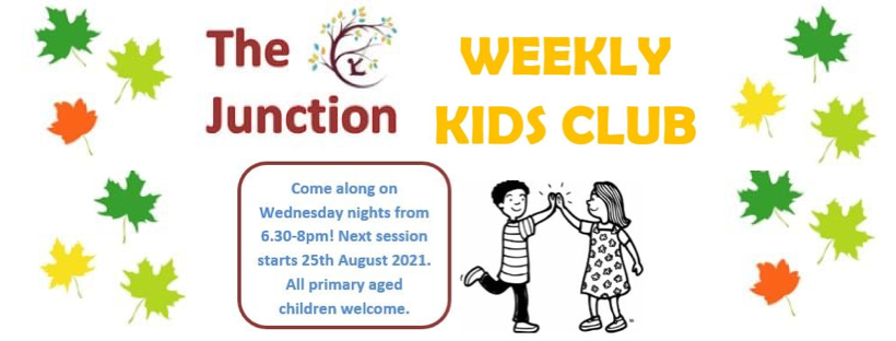 the junction weekly kids club banner