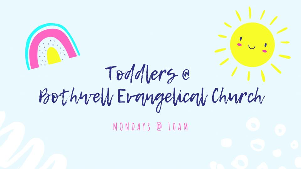 toddlers Mondays at 10am